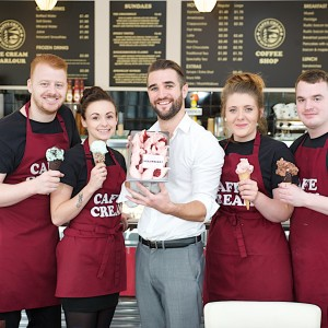 The team at Caffe Cream