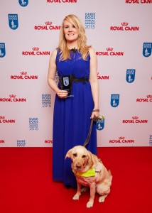 Lynette Proctor and Pippa on the red carpet